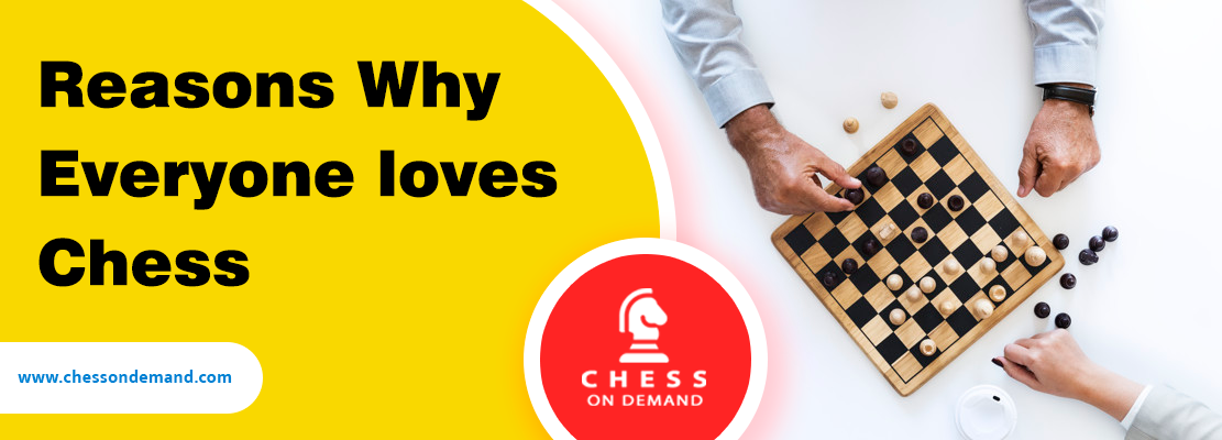 Reasons Why Everyone Loves Chess | Chessondemand